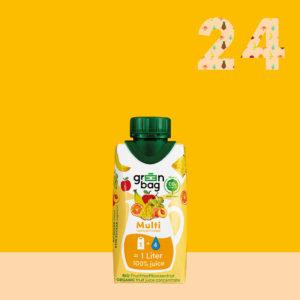 Green-Bag Bio Fruchtsaftkonzentrat Multi 24iger