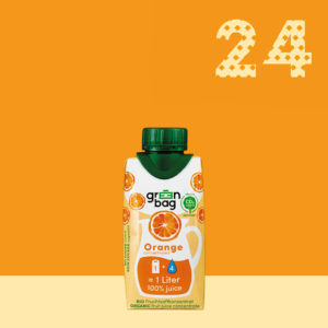 Green-Bag Bio Fruchtsaftkonzentrat Orange 24 Packungen