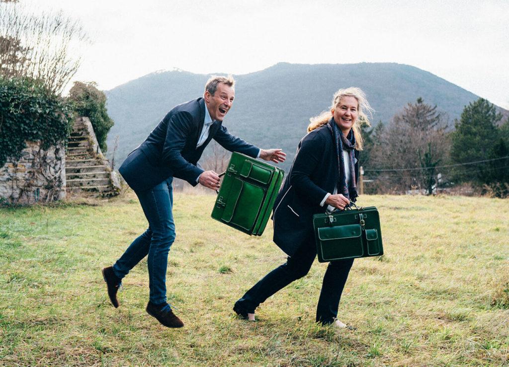 Green-Bag Bernhard und Martina