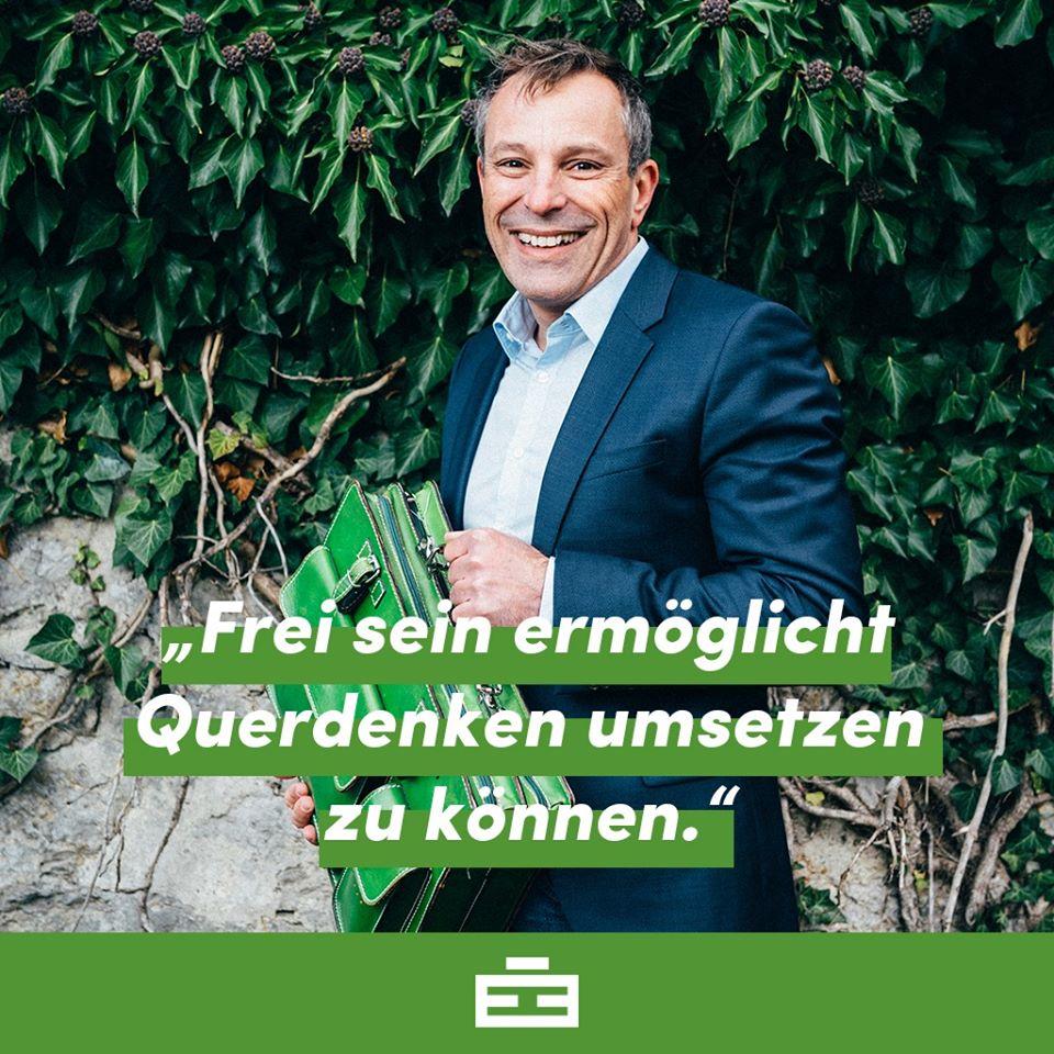 Berhard Gager und seine Lebenseinstellung