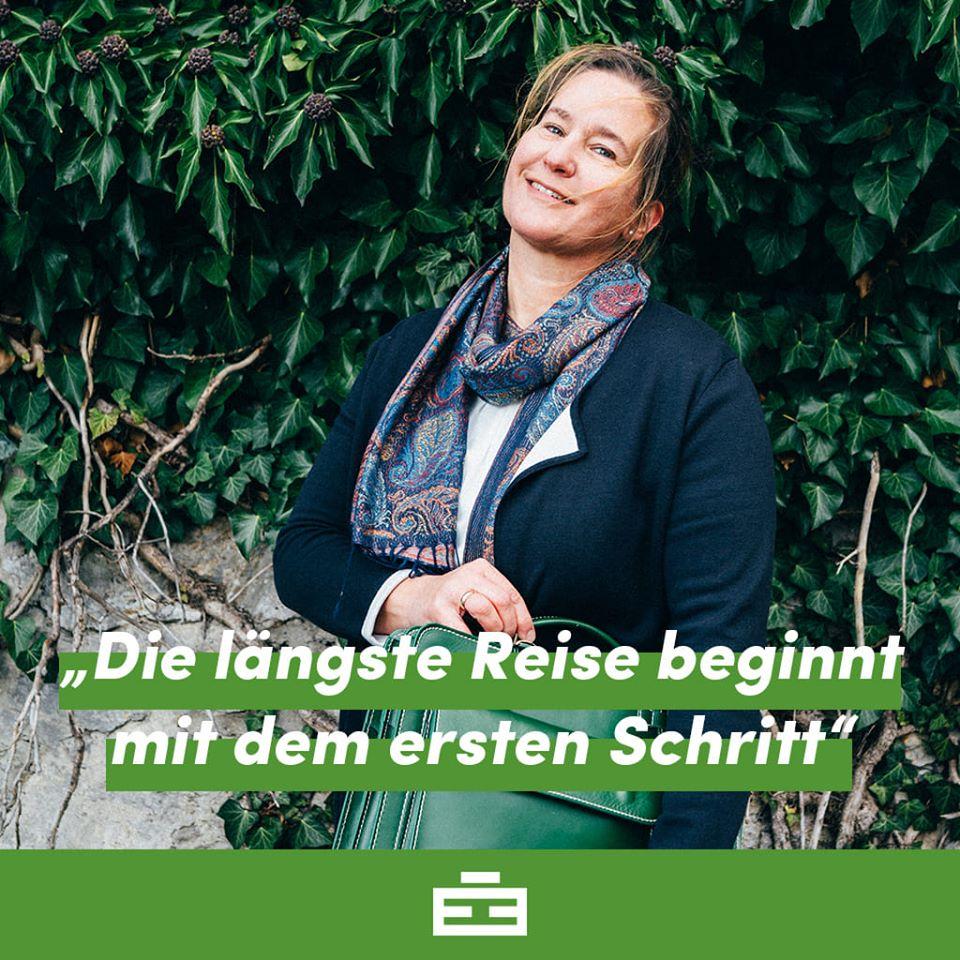 Das Lebenszitat von Martina Giczy - Geschäftsführerin von Green-Bag GmbG