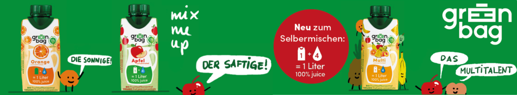 Green-Bag Unser Banner