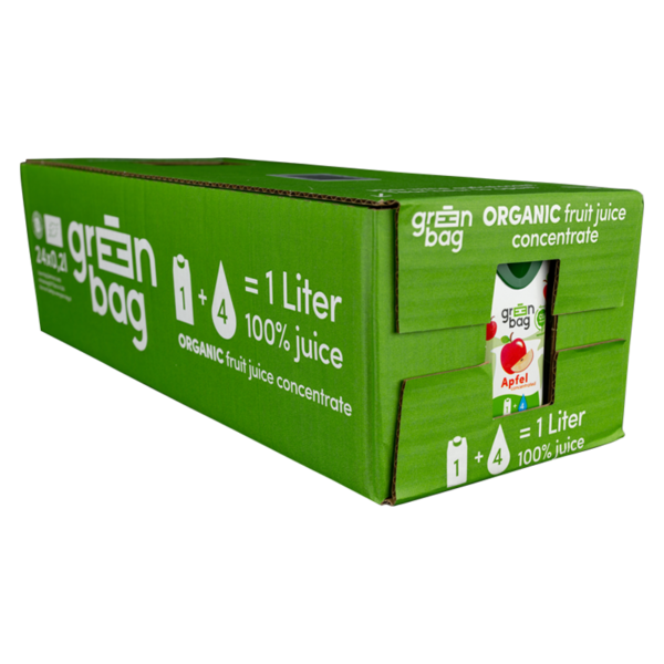 Green-Bag 24 Packungen Green-Bag concentrated Apfel