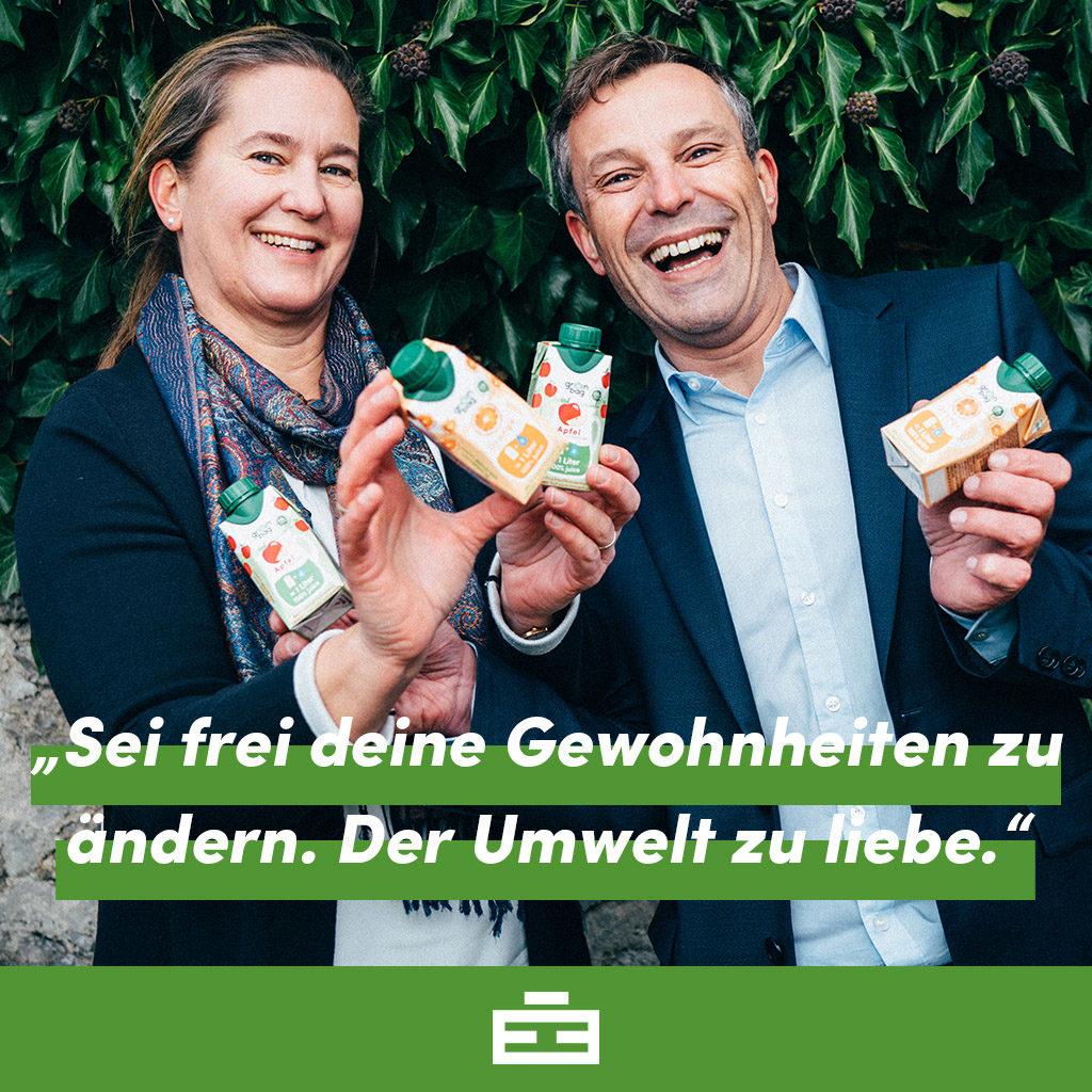 Martina und Bernhard - Ihr Unternehmensmotto!