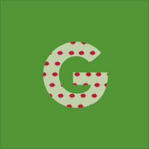Der Green-Bag Buchstabe G