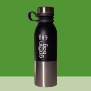 Green-Bag Bio Fruchtsaftkonzentrat Trinkflasche Edelstahl
